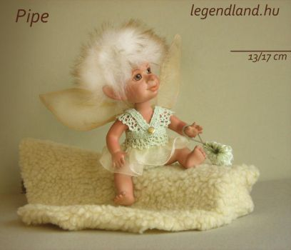 Pipe young fairy art doll - poseable art doll by LegendLand