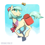 Coco Pommel and the Rainbow Spool by Katmomma