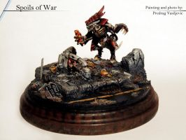 Spoils of war (diorama) single shot by Olovni