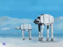 Imperial Walkers by philippeL