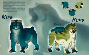 King, Hops, and Minnow Ref by Umbrafen