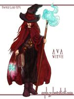 +Commission+ Aya the Witch by Saph-y