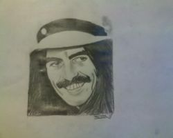 George Harrison by vin-o