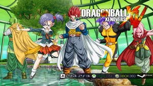 Dragon Ball XENOVERSE Poster/Background by veku786