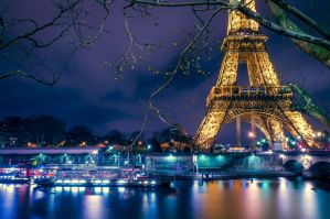 Eiffel Tower by frishustyle