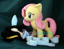 END! EBAY Fluttershy ninja bunny WITHOUT outfit by lemonkylie