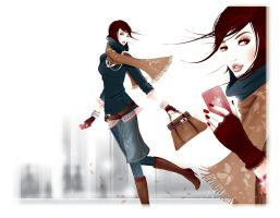 fashion illustration 6 by BreeLeman