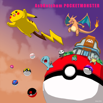 Record Covers - Pokemon by sykoeent