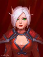 Blood Elf =_= by lowly-owly