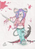 Tira Mouse by ChrisTheCat26