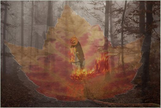 The Headless Horseman wandering in the forest..... by toxicsoil