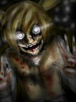 Im watching you- FNAF springtrap kinda humanized by NENEBUBBLEELOVER