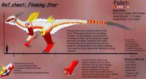 Flaming Star's sheet by Lord-Lavrahtheen