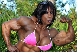 Yvette extremely muscled by xbgmusf