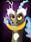 Discord XD - MLP FanArt by White-Wolf-Redgrave