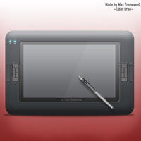Digital Tablet Icon by maxzon