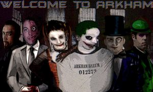 Welcome to Arkham - Variant by Hellzguardean