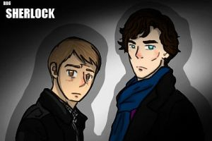 Sherlock and John by Xylocist