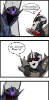 Starscream Nyoron by Kisachi