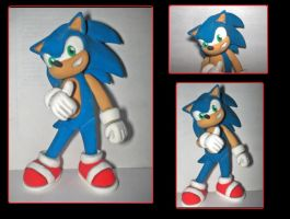 Sonic the hedgehog by axelgnt