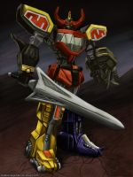 Mighty Morphin Megazord by ShadowRangerBlue