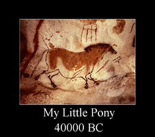 My Little Pony 40000 BC by Rayder3d