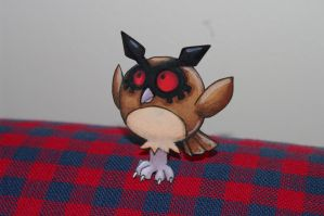Hoothoot - Pokemon Paperchild by RivkahWinter