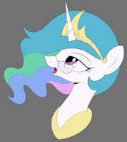 Celestia by Kas92 (Colored) by Shawnyall
