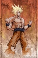 Goku - super saiyajin color by FASSLAYER