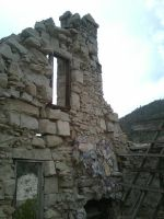 Rubble and a Window by falconire