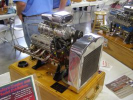 Mini Supercharged V8 Engine by Jetster1