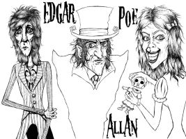 Edgar, Allan and Poe by Synbag