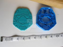 Master Chief Cookie Cutter 01 by B2Squared