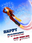 Happy Fourth of July! by Schreibaby-Zephyr