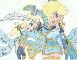 Rosalina Star Warrior by JediMasterMaria89