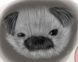 Drawing of my dog by lmsubscribing