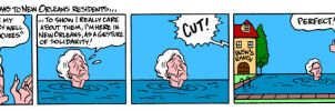 Solidarity from Barbara Bush by Latuff2