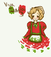little 2p!Romano by snowlily3