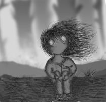 girl inspired by limbo game by tj6795