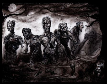 Swamp Zombies by The-Infamous-MrGates