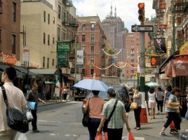 Little Italy and Chinatown by iyonix
