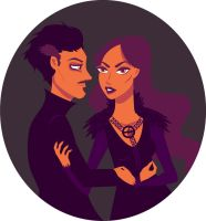 Alayne Stone and Petyr Baelish by Leah-Sama