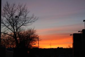 Sunset in Moscow 01 by LinaAir