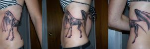 Thestral Tattoo by iaml0st815