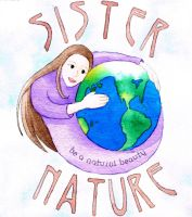 Sister Nature logo by MariaArnt