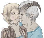 Sera x Adaar by myrestlessdreams