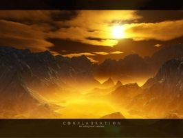 conflagration by xel-naga