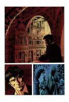 Comic Artwork - Coloured by Terry Castellani by castell182