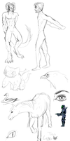 Sketchdump #2 by jebANON