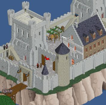 Working in a castle 3 by MedievalCommunity